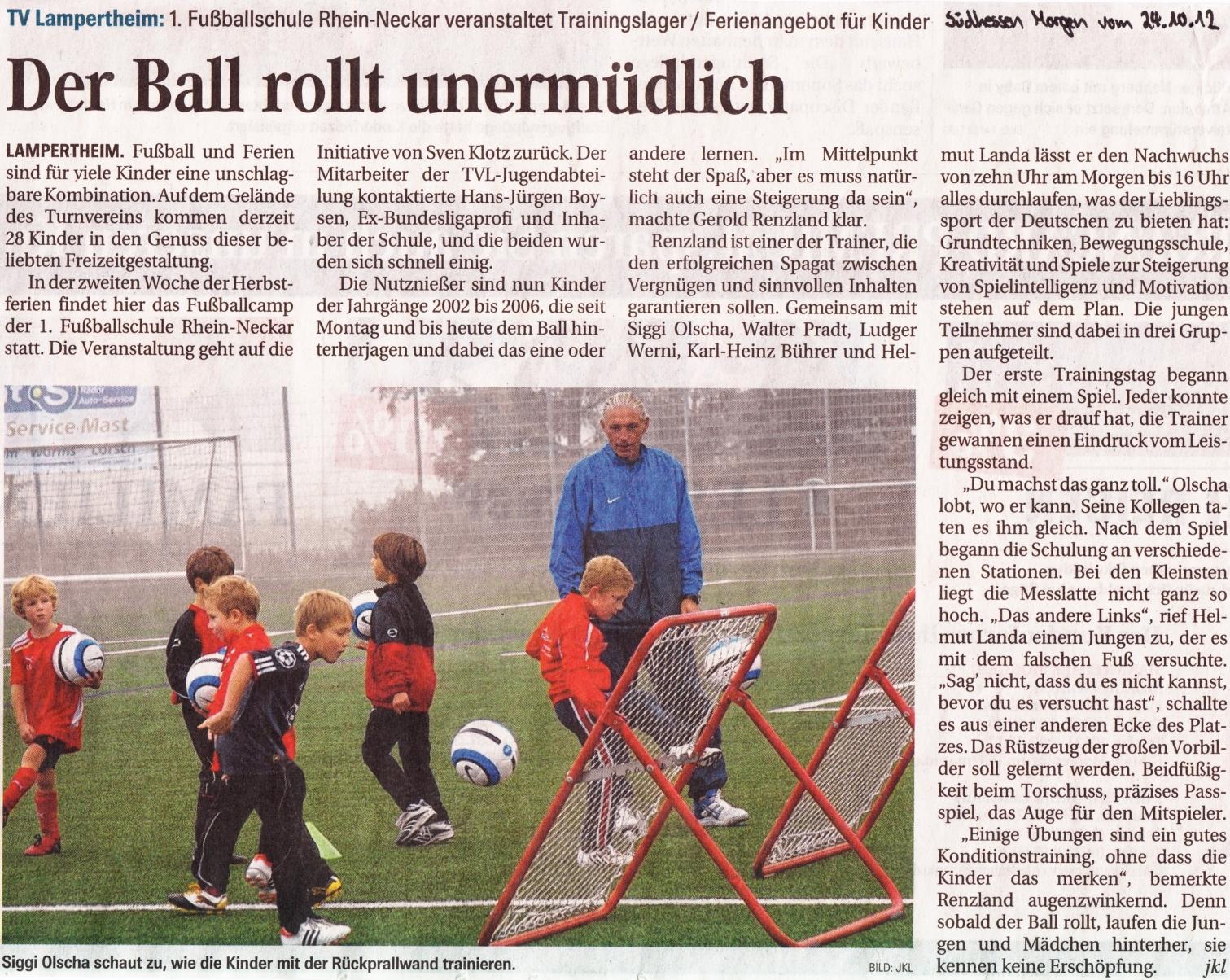 Zeitungsartikel Suedhessen Morgen