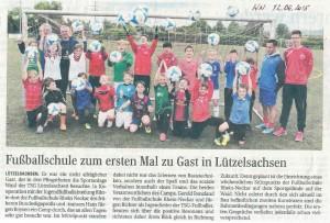 Fußballschule zum ersten Mal zu Gast in Lützelsachsen