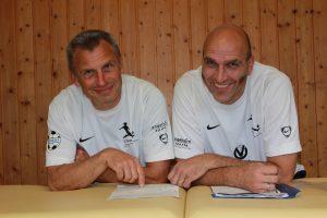 Arno Pietz und Ludger Werni (TSG Wilhelmsfeld)