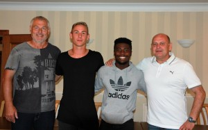 Hans-Jürgen Boysen, Kevin Broll, M. Osei Kwadwo, M. Hettinger
